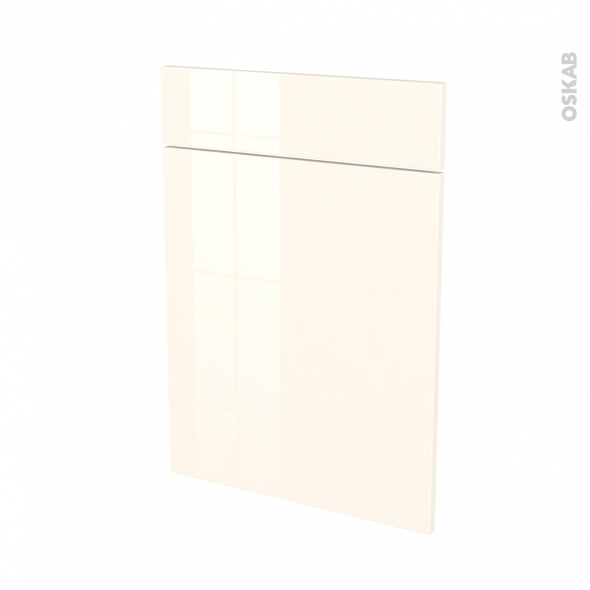 KERIA Ivoire - façade N°54 1 porte 1 tiroir - L50xH70