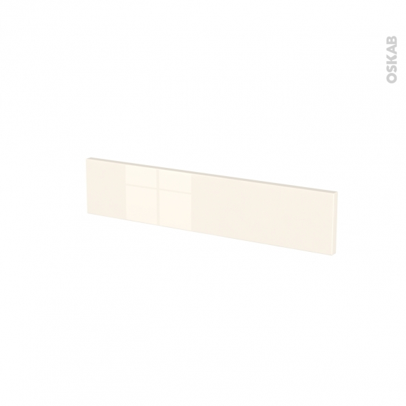 Façades de cuisine - Face tiroir N°3 - KERIA Ivoire - L60 x H13 cm