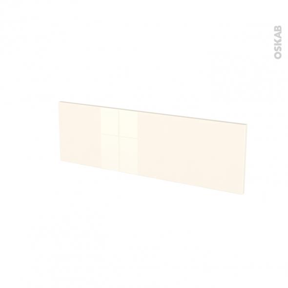 Façades de cuisine - Face tiroir N°39 - KERIA Ivoire - L80 x H25 cm