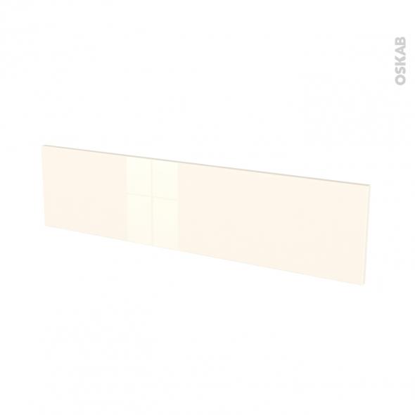 Façades de cuisine - Face tiroir N°41 - KERIA Ivoire - L100 x H25 cm