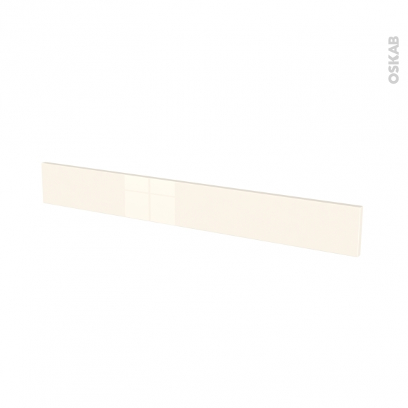 Façades de cuisine - Face tiroir N°43 - KERIA Ivoire - L100 x H13 cm