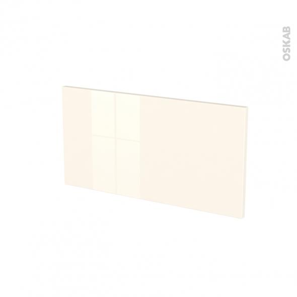 Façades de cuisine - Face tiroir N°8 - KERIA Ivoire - L60 x H31 cm