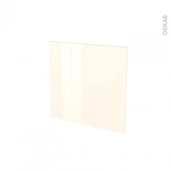 Porte lave vaisselle - Intégrable N°16 - KERIA Ivoire - L60 x H57 cm
