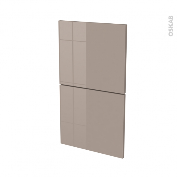 KERIA Moka - façade N°52  2 tiroirs - L40xH70