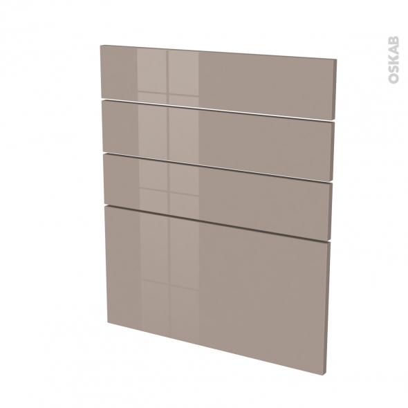 KERIA Moka - façade N°59 4 tiroirs - L60xH70