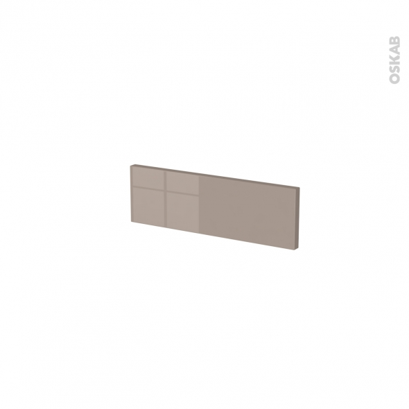 Façades de cuisine - Face tiroir N°1 - KERIA Moka - L40 x H13 cm