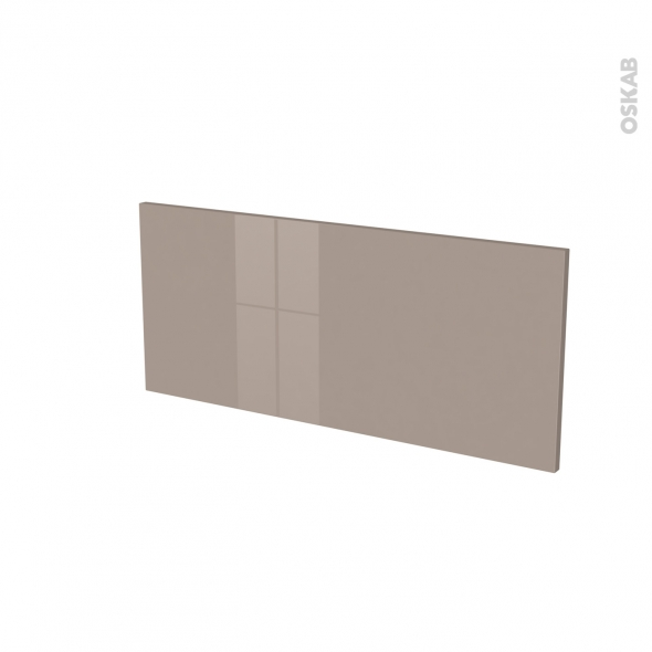Façades de cuisine - Face tiroir N°11 - KERIA Moka - L80 x H35 cm