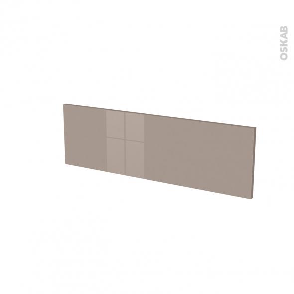 Façades de cuisine - Face tiroir N°39 - KERIA Moka - L80 x H25 cm