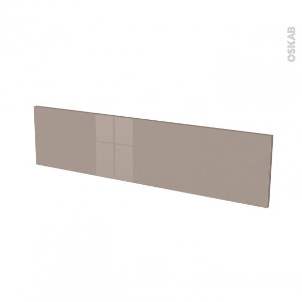 Façades de cuisine - Face tiroir N°41 - KERIA Moka - L100 x H25 cm