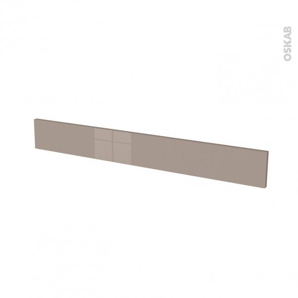 Façades de cuisine - Face tiroir N°43 - KERIA Moka - L100 x H13 cm