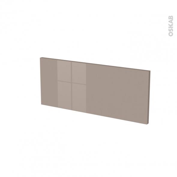 Façades de cuisine - Face tiroir N°5 - KERIA Moka - L60 x H25 cm