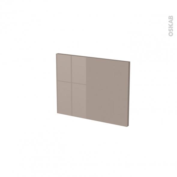 Façades de cuisine - Face tiroir N°6 - KERIA Moka - L40 x H31 cm