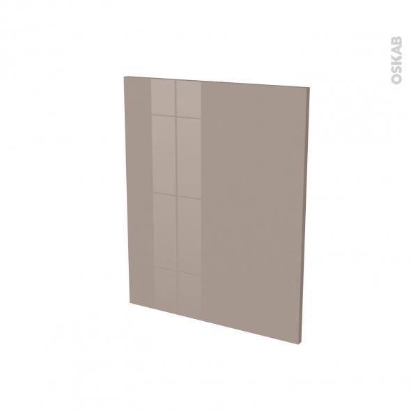 Finition cuisine - Joue N°29 - KERIA Moka - Avec sachet de fixation - A redécouper - L58 x H41 x Ep.1.6 cm
