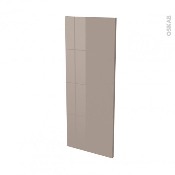 Finition cuisine - Joue N°32 - KERIA Moka - L37 x H92 cm