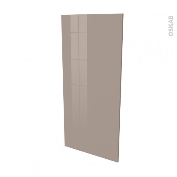 Finition cuisine - Joue N°33 - KERIA Moka - L58 x H125 cm