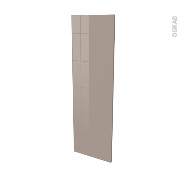 Façades de cuisine - Porte N°26 - KERIA Moka - L40 x H125 cm