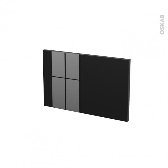 Façades de cuisine - Face tiroir N°7 - KERIA Noir - L50 x H31 cm