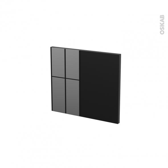 KERIA Noir - face tiroir N°9 - L40xH35