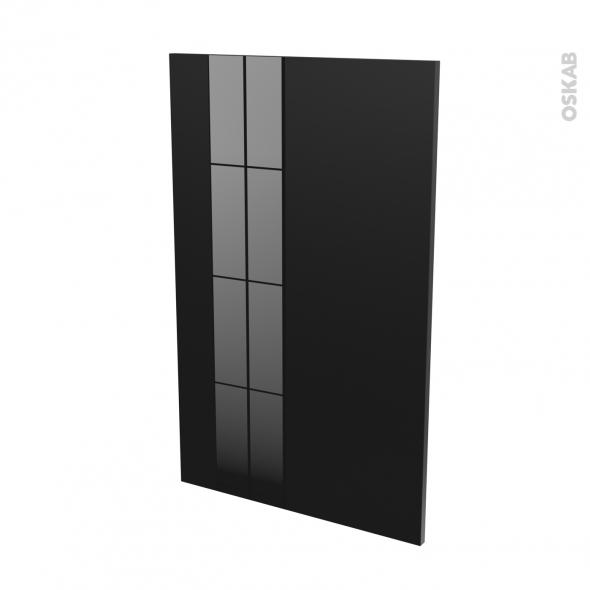 KERIA Noir - Rénovation 18 - joue N°79 - Avec sachet de fixation - L60 x H92 Ep.1.2 cm