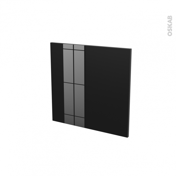 KERIA Noir - Rénovation 18 - Porte N°16 - Lave vaisselle intégrable - L60xH57