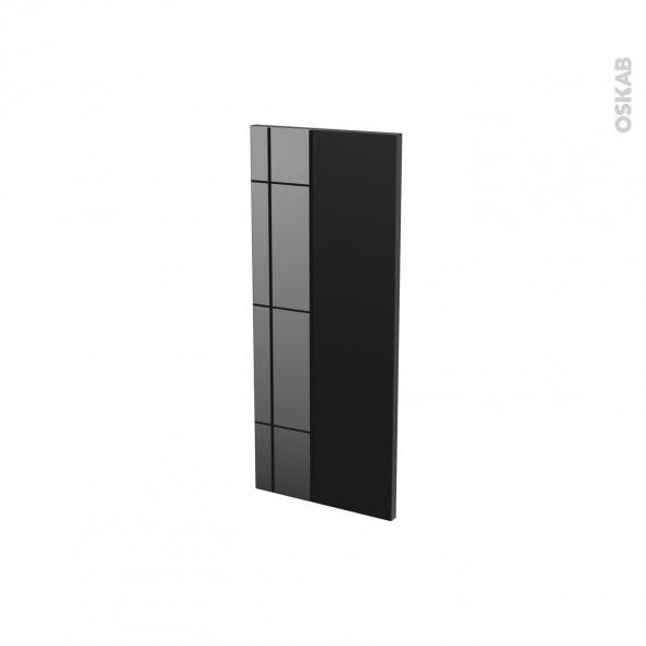 Façades de cuisine - Porte N°18 - KERIA Noir - L30 x H70 cm