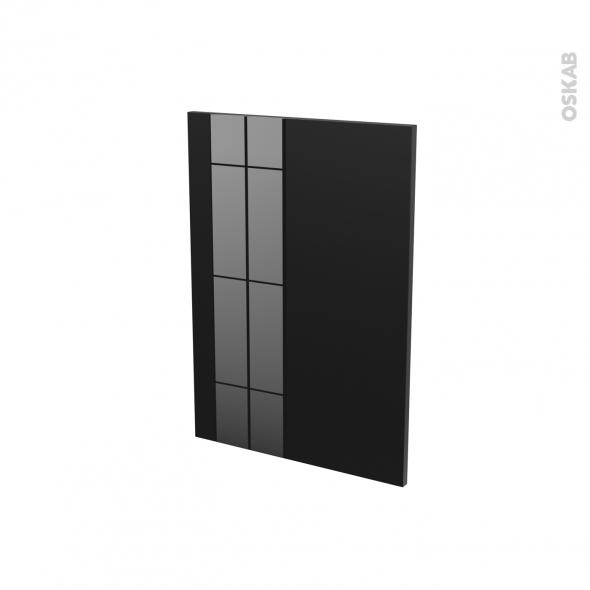 Façades de cuisine - Porte N°20 - KERIA Noir - L50 x H70 cm