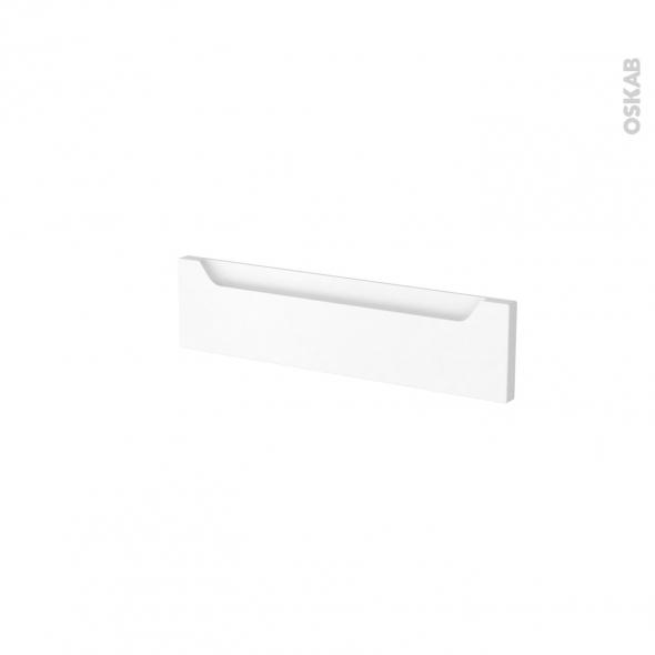 Façades de cuisine - Face tiroir N°2 - PIMA Blanc - L50 x H13 cm