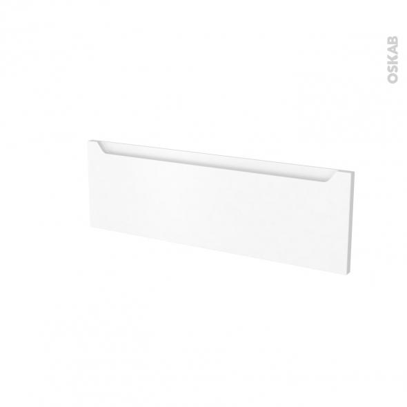 Façades de cuisine - Face tiroir N°39 - PIMA Blanc - L80 x H25 cm