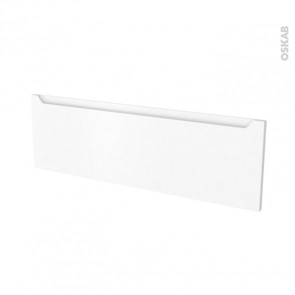 Façades de cuisine - Face tiroir N°40 - PIMA Blanc - L100 x H31 cm