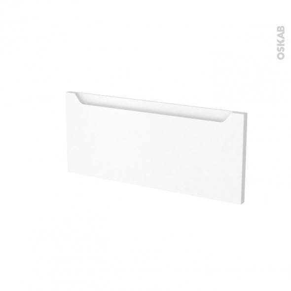 Façades de cuisine - Face tiroir N°5 - PIMA Blanc - L60 x H25 cm