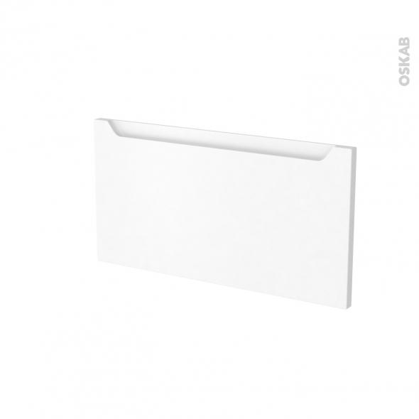 PIMA Blanc - face tiroir N°8 - L60xH31