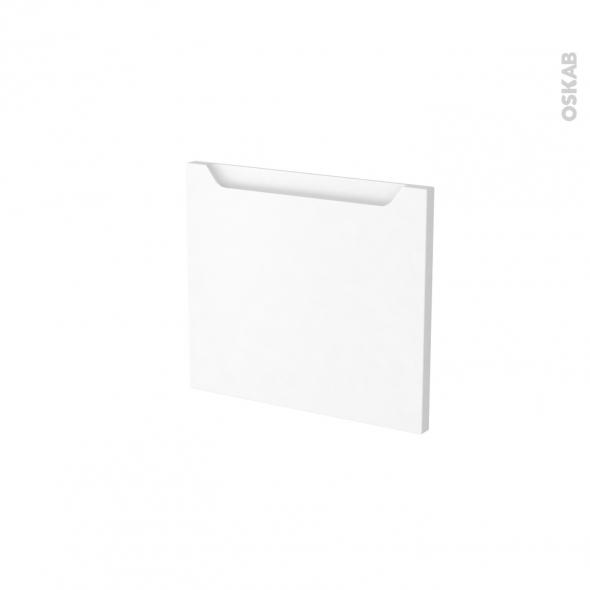 Façades de cuisine - Face tiroir N°9 - PIMA Blanc - L40 x H35 cm