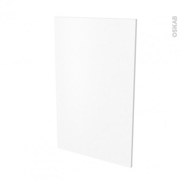 Finition cuisine - Joue N°31 - PIMA Blanc - Avec sachet de fixation - L58.4 x H92 x Ep.1.6 cm