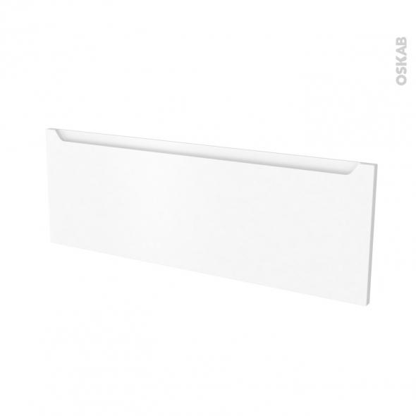 Façades de cuisine - Porte N°12 - PIMA Blanc - L100 x H35 cm