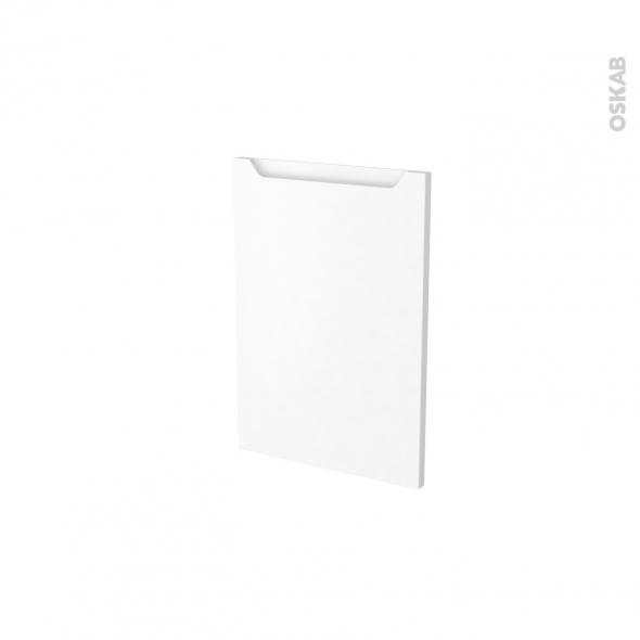 Façades de cuisine - Porte N°14 - PIMA Blanc - L40 x H57 cm
