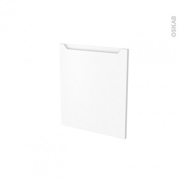 Façades de cuisine - Porte N°15 - PIMA Blanc - L50 x H57 cm
