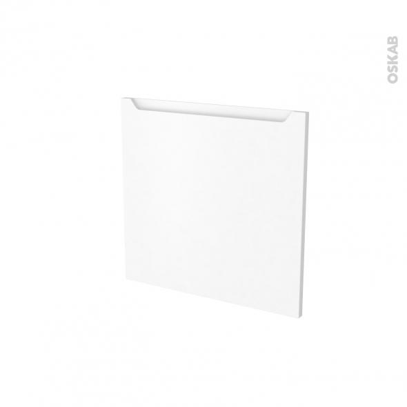 Porte lave vaiselle - Intégrable N°16 - PIMA Blanc - L60 x H57 cm
