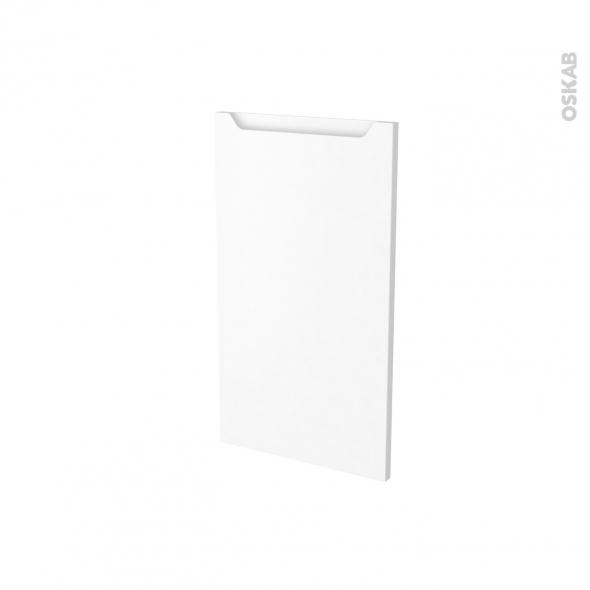 Façades de cuisine - Porte N°19 - PIMA Blanc - L40 x H70 cm