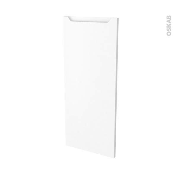 Façades de cuisine - Porte N°23 - PIMA Blanc - L40 x H92 cm