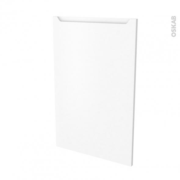 Façades de cuisine - Porte N°24 - PIMA Blanc - L60 x H92 cm
