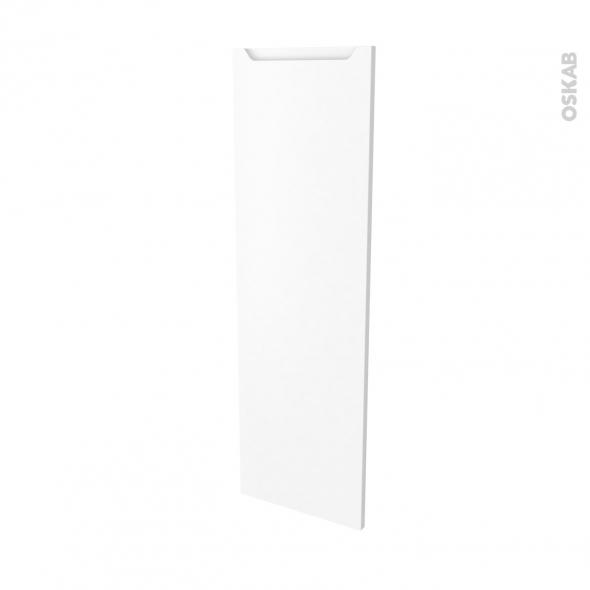 Façades de cuisine - Porte N°26 - PIMA Blanc - L40 x H125 cm