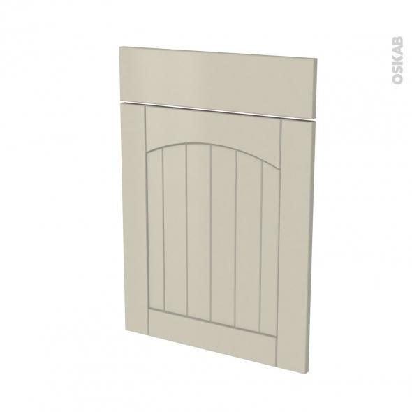 SILEN Argile - façade N°54 1 porte 1 tiroir - L50xH70 - gauche
