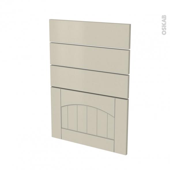 SILEN Argile - façade N°55 4 tiroirs - L50xH70
