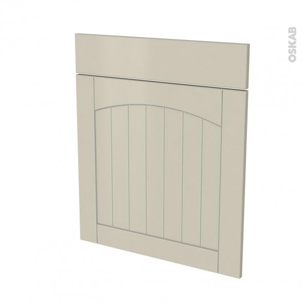 SILEN Argile - façade N°56 1 porte 1 tiroir - L60xH70 - droite