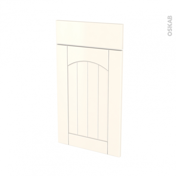 SILEN Ivoire - façade N°51 1 porte 1 tiroir - L40xH70 - gauche