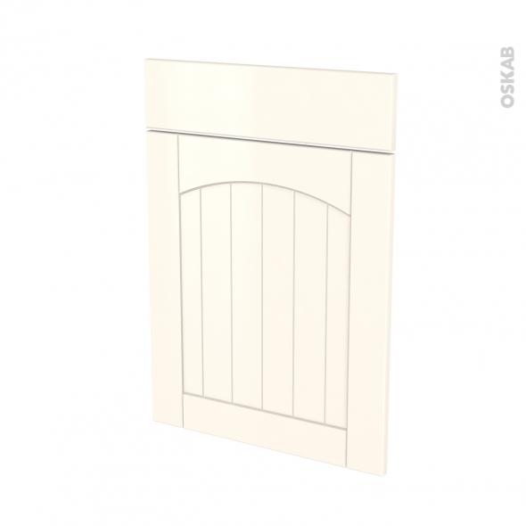 SILEN Ivoire - façade N°54 1 porte 1 tiroir - L50xH70 - gauche