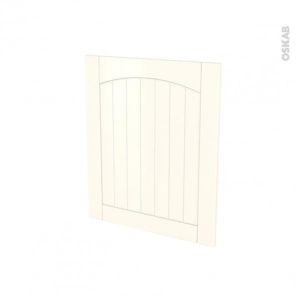SILEN Ivoire - Porte N°21 - Lave vaisselle full intégrable - L60xH70