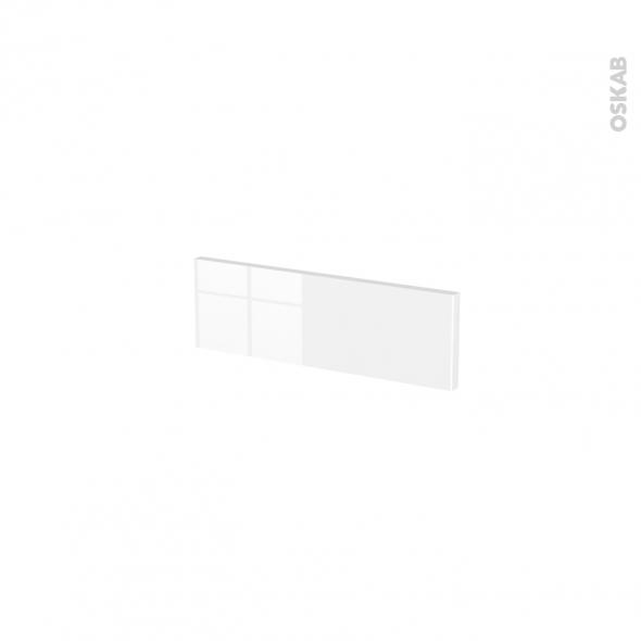 Façades de cuisine - Face tiroir N°1 - STECIA Blanc - L40 x H13 cm