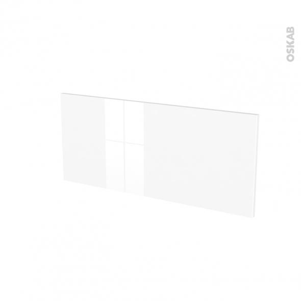 Façades de cuisine - Face tiroir N°11 - STECIA Blanc - L80 x H35 cm