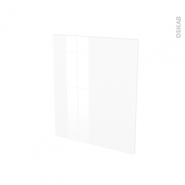 Porte lave linge - à repercer N°21 - STECIA Blanc - L60 x H70 cm
